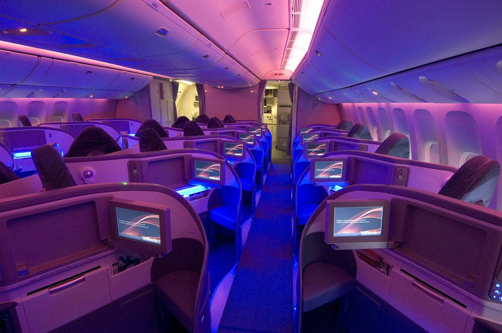 Boeing 777 International Business Class, Foto: Air Canada