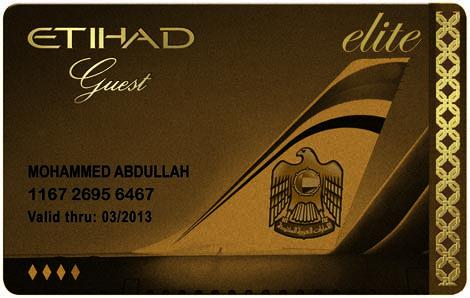 Etihad Guest Gold Elite Foto: Etihad