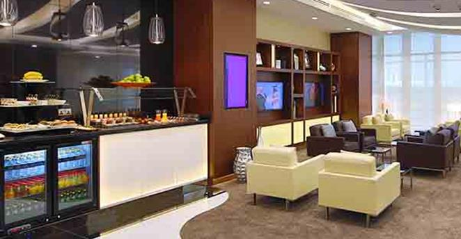 Etihad Arrivals Lounge Lobby Foto: Etihad