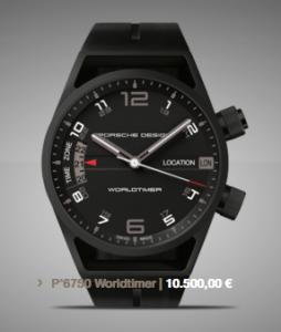 Porsche Design Worldtimer Foto: Porsche Design