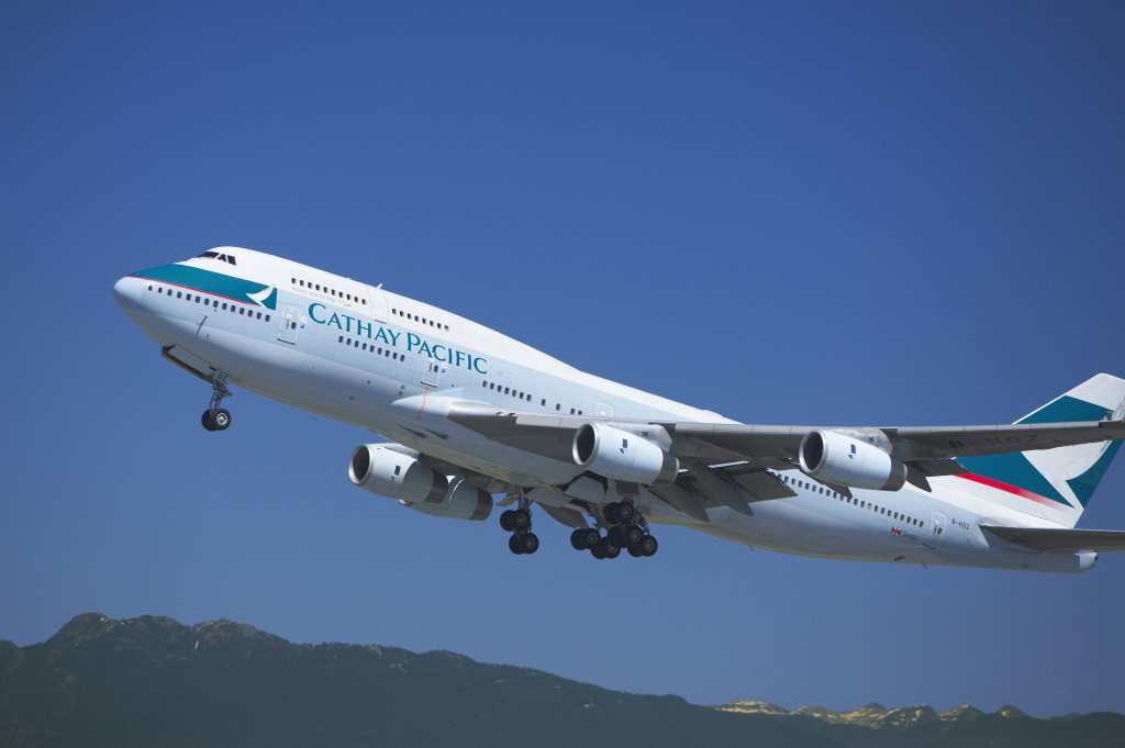 Cathay Pacific Boeing 747 Foto: Cathay Pacific