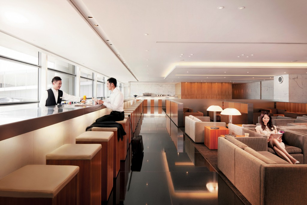 Cathay Pacific Business Class Lounge Foto: Cathay Pacific