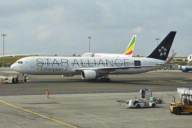 Boeing 767-360ER 'ET-ALO' Ethiopian Airlines Foto: Alan Wilson