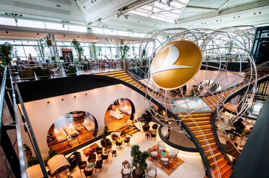 CIP Lounge / Flughafen Atatürk Istanbul Foto: Turkish Airlines