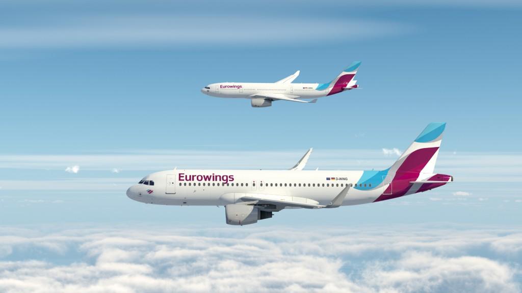 Eurowings A320 A330 Foto: Lufthansa