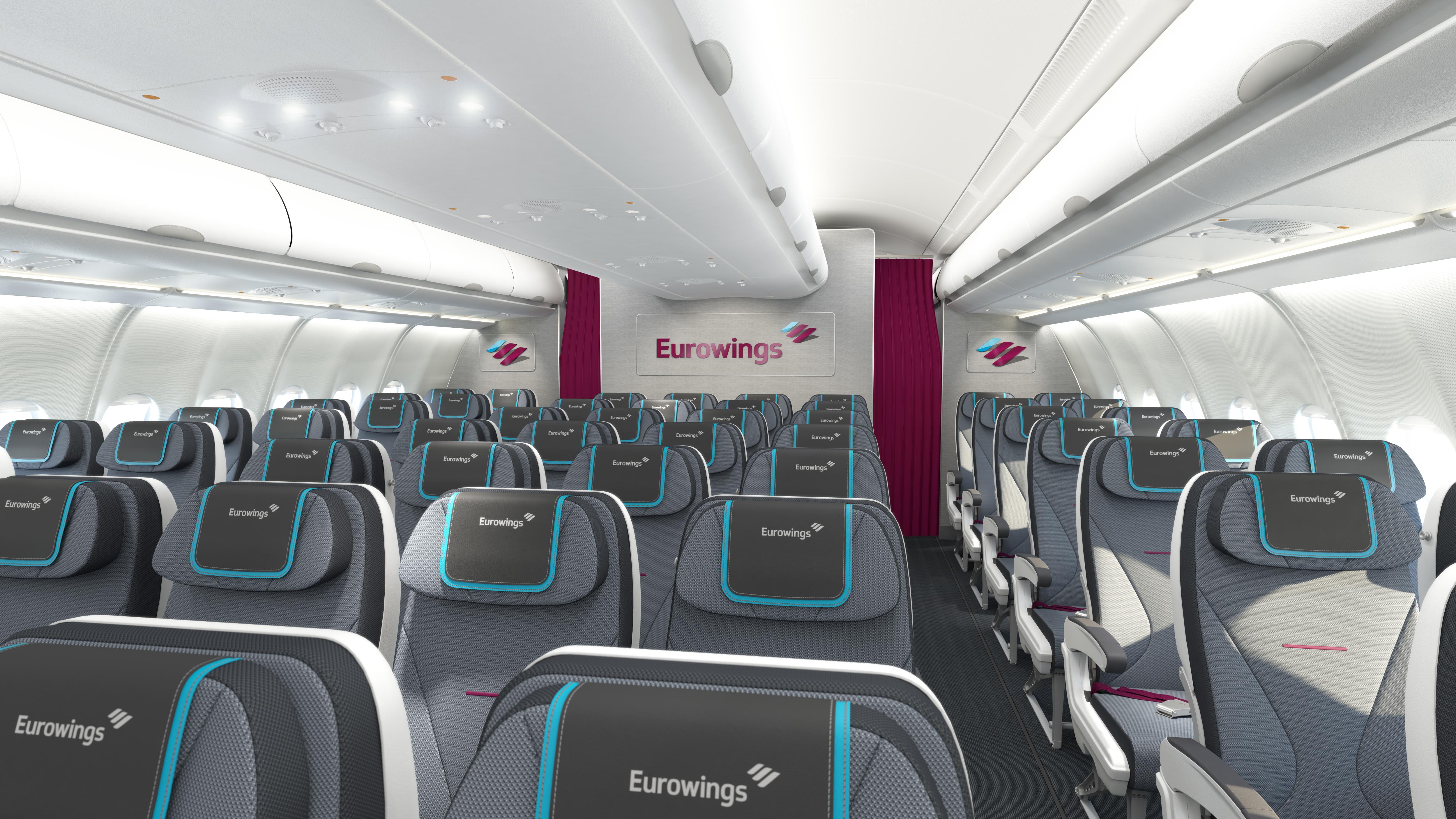 Neustart eurowings ticketpreise neue verbindungen und for Interieur boeing 757