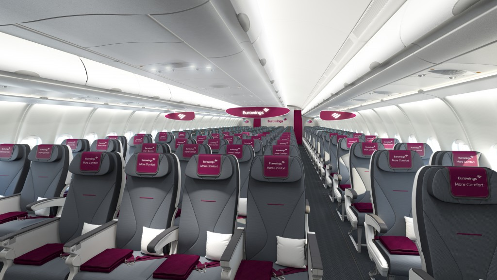 More Comfort Zone Eurowings Foto: Germanwings