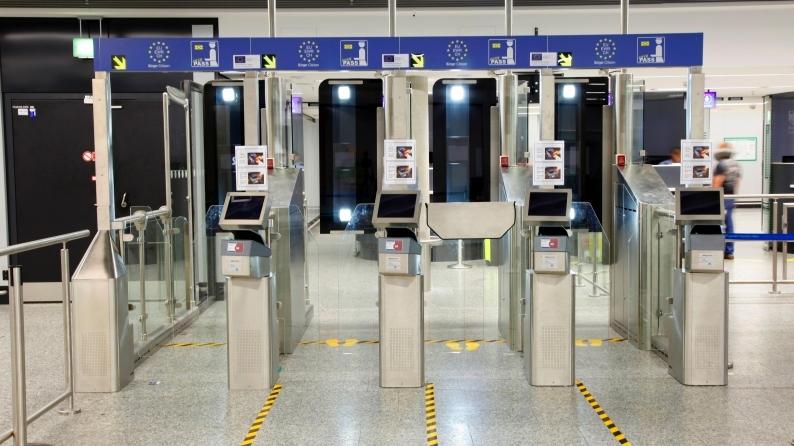 Automatisierte Grenzkontrolle EasyPass Foto: Fraport AG