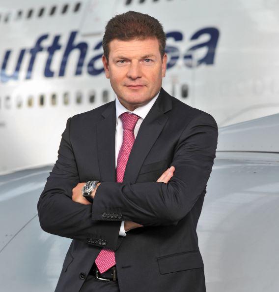 Jens Bischof, Lufthansa Vertriebschef Foto: Lufthansa