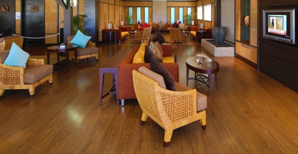 Salon Vallée de Mai Premium Lounge auf dem Sechelles International Airport Foto: Air Seychelles