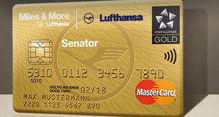 Lufthansa Senator Credit Card Foto: Miles & More