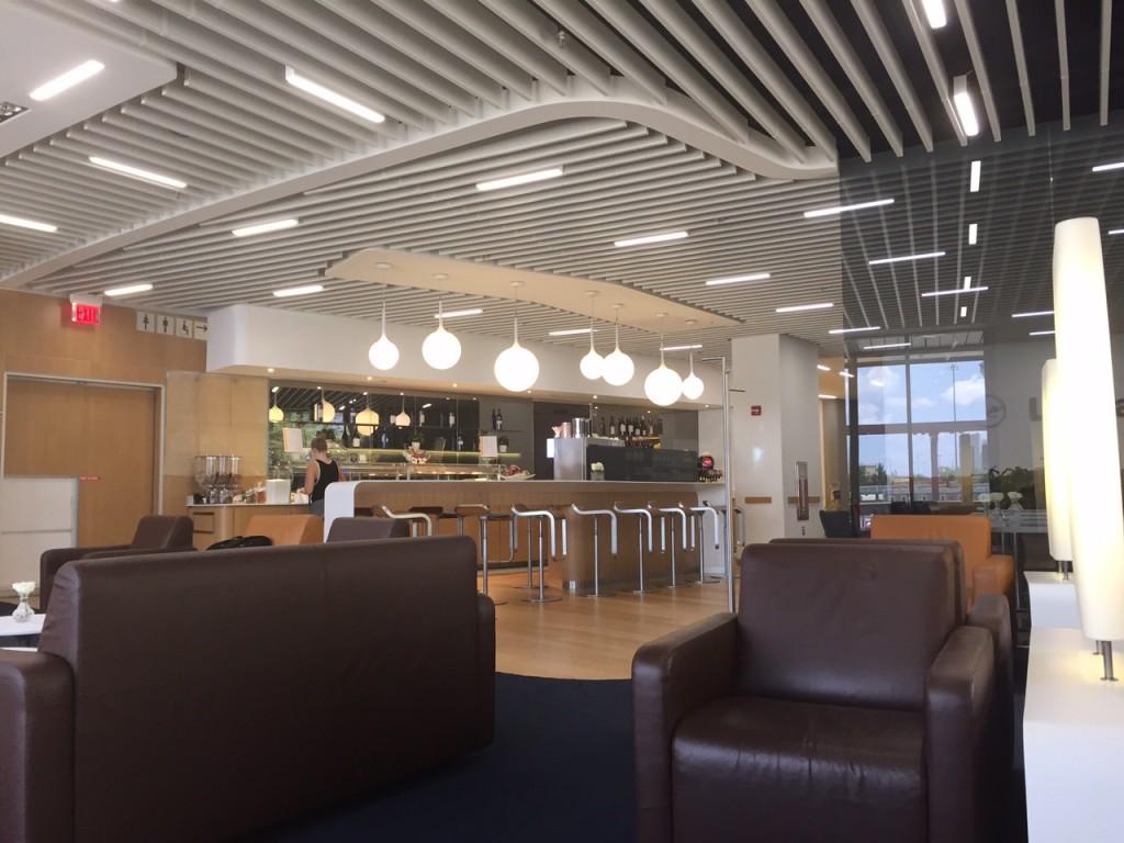 Lufthansa Senator Lounge Newark (EWR) Foto: Thomas L.