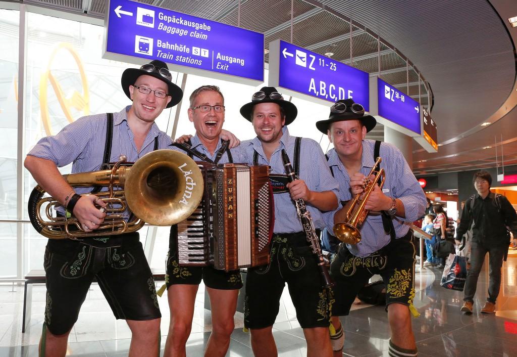 Oktoberfest auf dem Flughafen Frankfurt Foto: Fraport