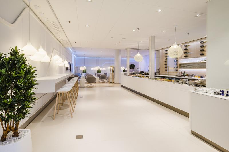 Premium Lounge Finnair, Eingangsbereich Foto: Finnair