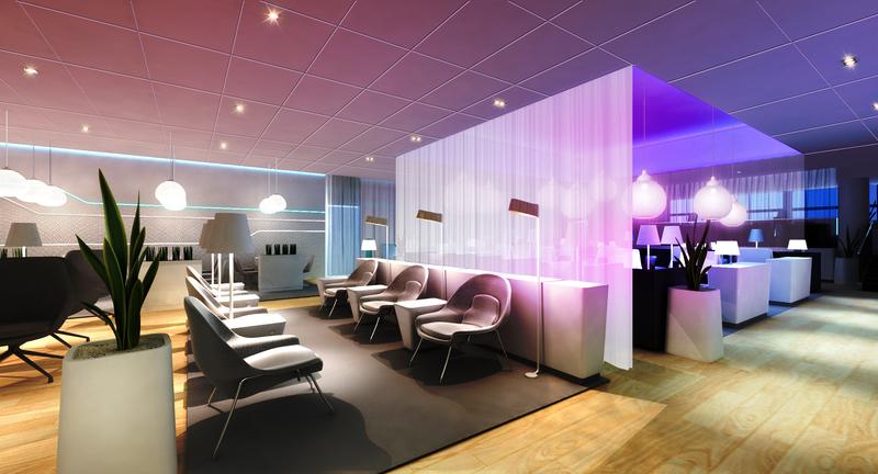 Finnair Premium Lounge Entspannungsbereich Foto: Finnair