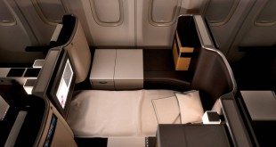 Neuer Business Class Sitz im Boeing 777-300ER Foto: SWISS