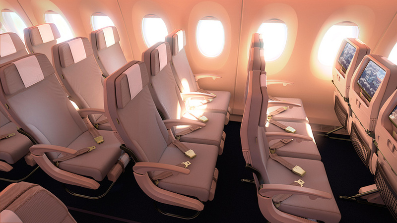 Finnair A30 XWB Economy Class Foto: Finnair
