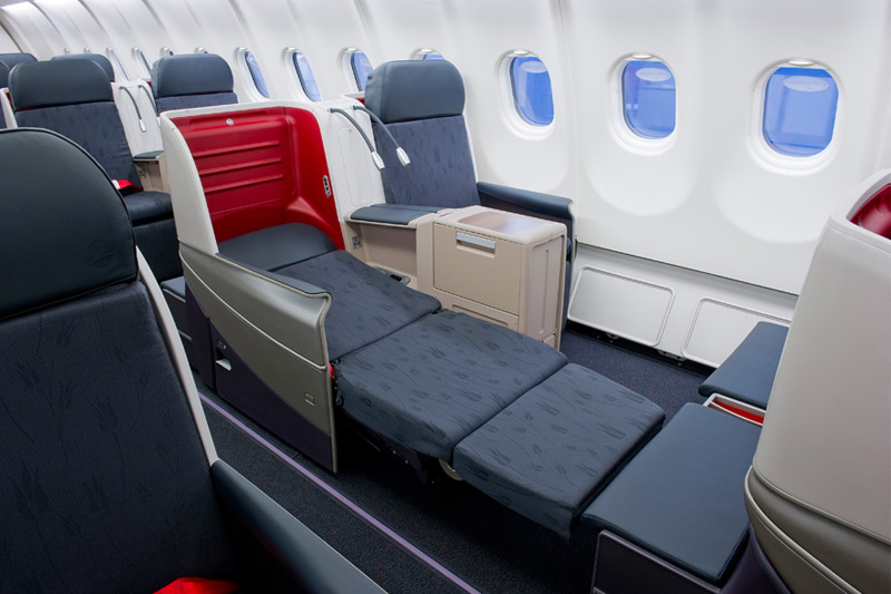Neue Turkish Airlines Business Class Foto: Turkish Airlines