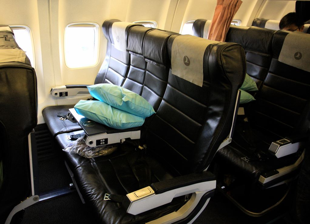 Foto: Turkish Airlines Business Class - Boeing 737-800 TravelingOtter