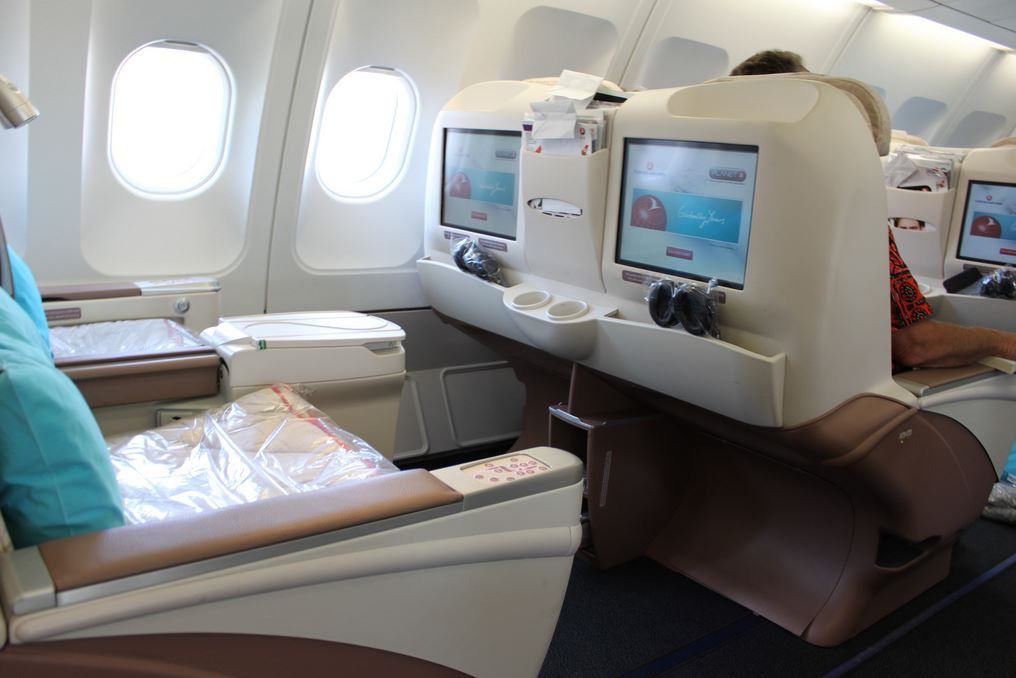 Foto: Turkish Airlines Business Class leyla.a