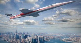 Aerion AS2 über New York