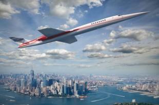 Aerion AS2 über New York Foto: Aerion Corporation