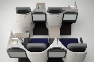 Neue Business Class Sitze Malaysia Airlines
