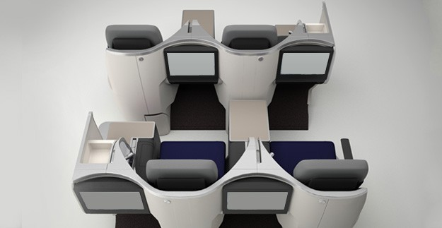 Neue Business Class Sitze Foto: Malaysia Airlines