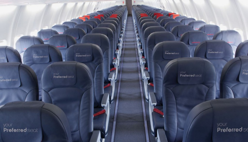 Airberlin Economy Class Preferred Seats Foto: airberlin