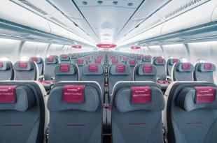 Eurowings More Comfort Bereich Foto: Eurowings