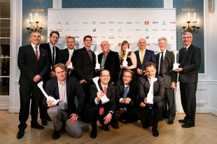 Gewinner der Crystal Cabin Awards 2016 Foto: Crystal Cabin Awards