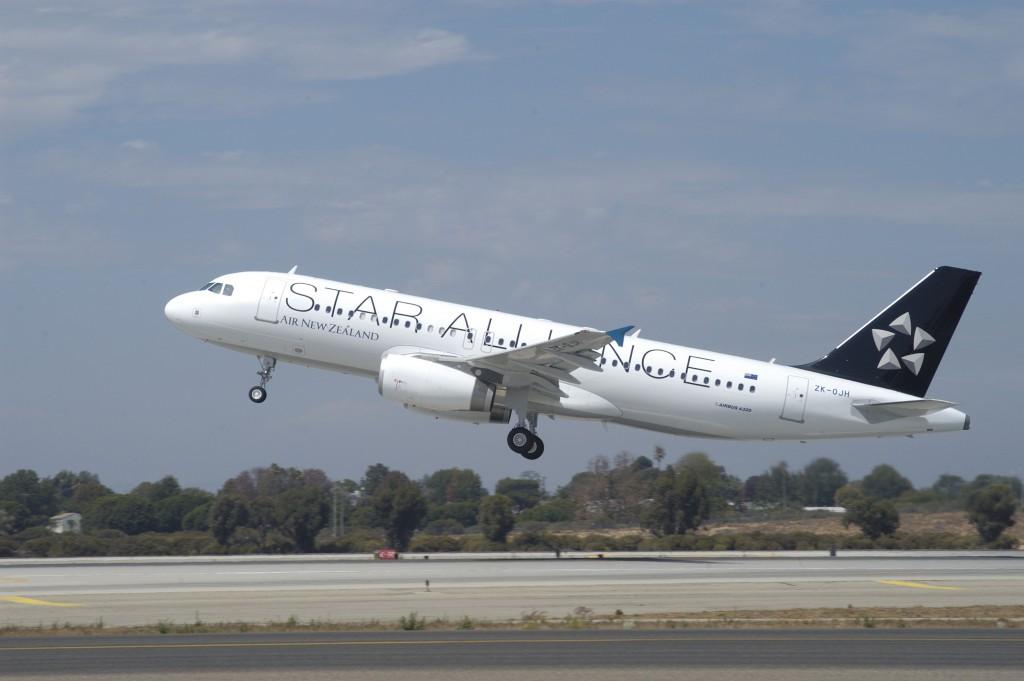 Air New Zealand Airbus A320 Foto: Star Alliance