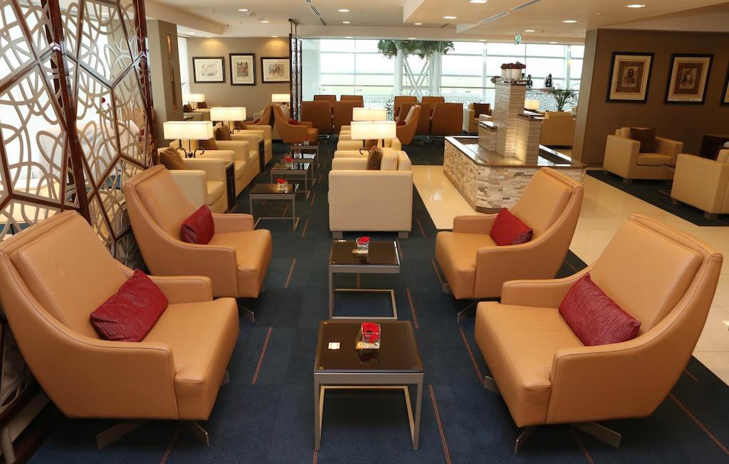 Emirates Cape Town Lounge Foto: Emirates