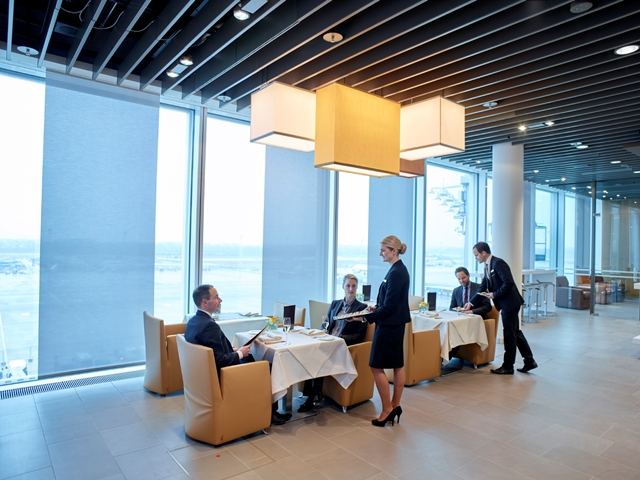 First Class Lounge, Satellit MUC Foto: Lufthansa