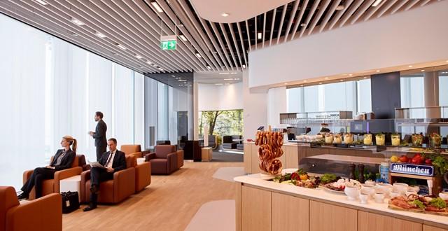 Lufthansa Business Lounge Satellit MUC Foto: Lufthansa