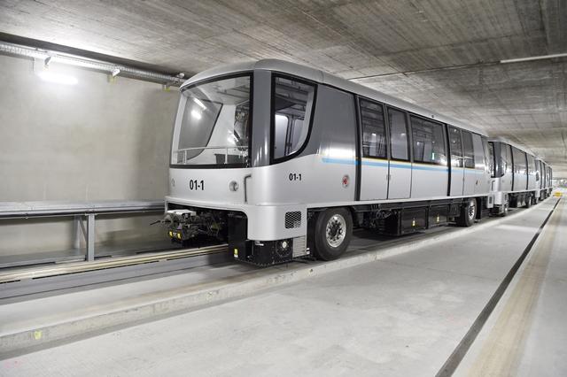 Fahrerlose U-Bahn Foto: Flughafen München