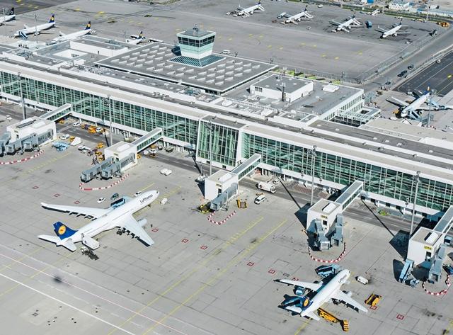 Neues Satellitenterminl Foto: Flughafen München