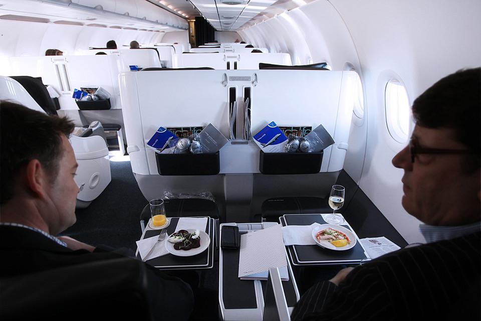 Club World London City, Quelle: British Airways