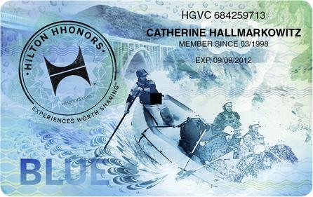 Hilton HHonors Blue Card, Quelle: HHonors Media Center