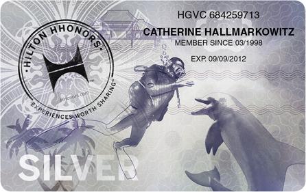 Hilton HHonors Silver Card, Quelle: HHonors Media Center