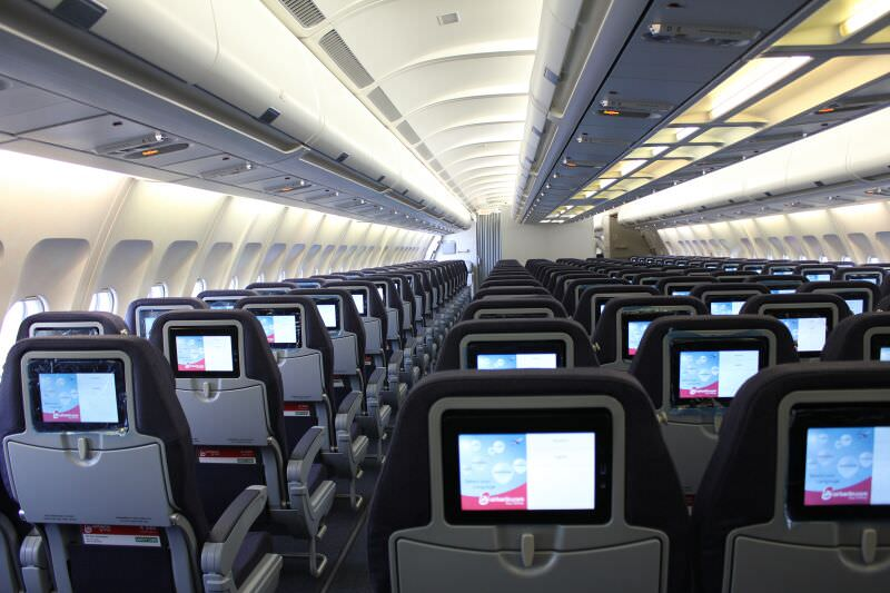 Economy Class (Langstrecke) Quelle: airberlin