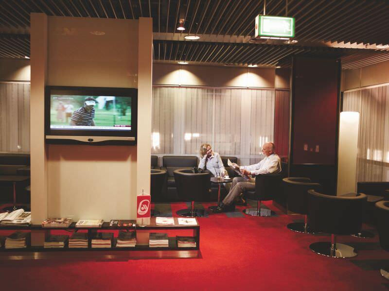 Düsseldorf Business Class Lounge Quelle: airberlin