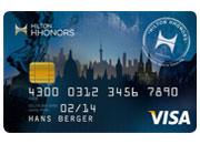 Hilton HHonor Kreditkarte von Visa