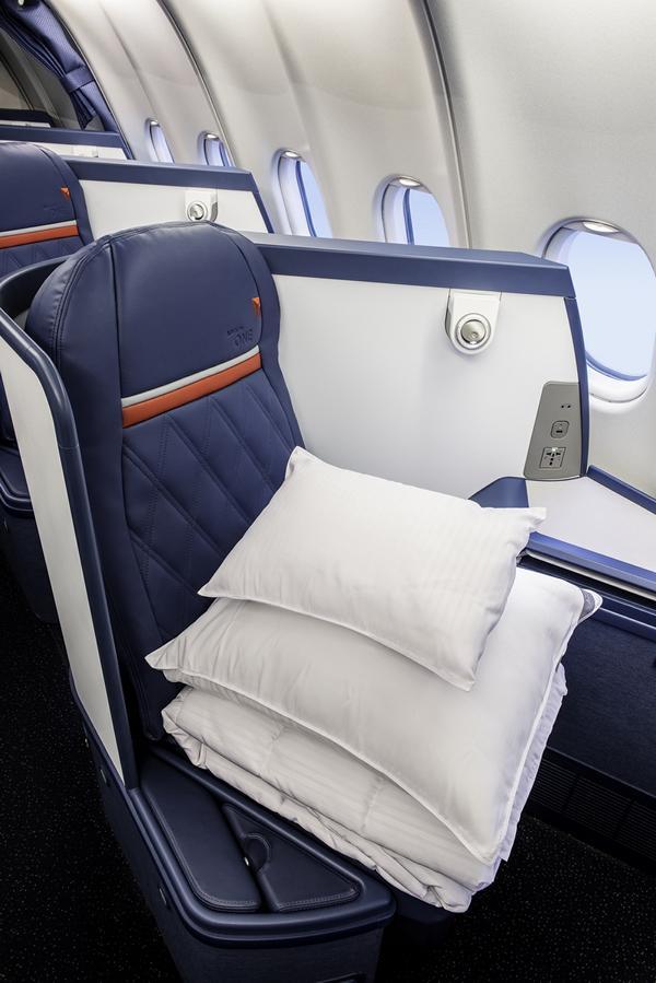 Delta One Sitze Quelle: Delta Air Lines