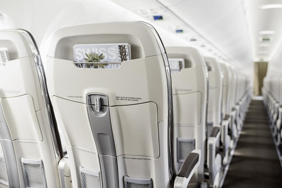 C Series Business Class Quelle: Swiss