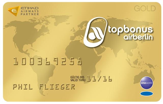 topbonus Gold Karte, Quelle: topbonus