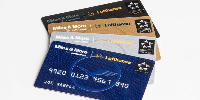 Die Miles & More Servicekarten