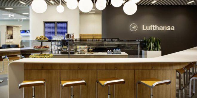 Business Lounge, Frankfurt A+, Schengen Quelle: Lufthansa  © Photographer: Jens Görlich - © conditions: worldwide, unlimited, no advertising